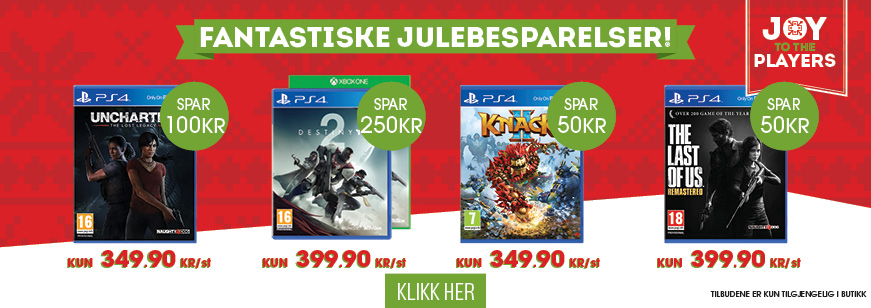 Christmas Price Drops on Top Title Games 2