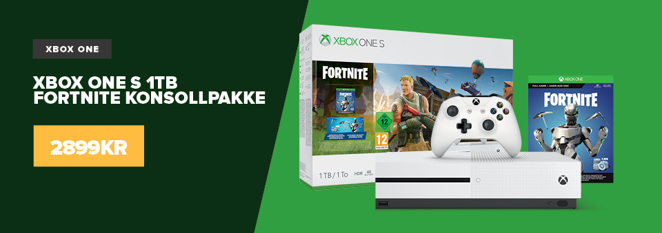 Xbox One S 1TB Console & Fortnite Bundle