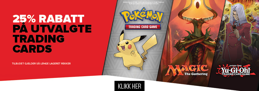 25% Off Select Trading Cards