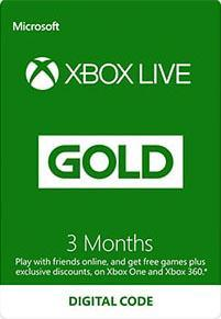 Xbox Live Gold 3 Month Subscription [DIGITALT]