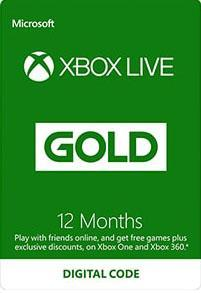 Xbox Live Gold 12 Month Subscription [DIGITALT]