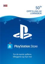 50 kr PlayStation®Network-lommebok