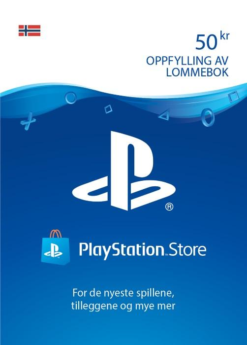 50 kr PlayStation®Network-lommebok [DIGITALT]