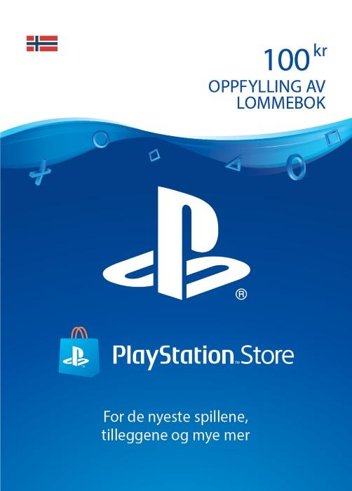100KR PlayStation®Network [DIGITALT]