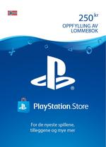 250 kr PlayStation®Network-lommebok