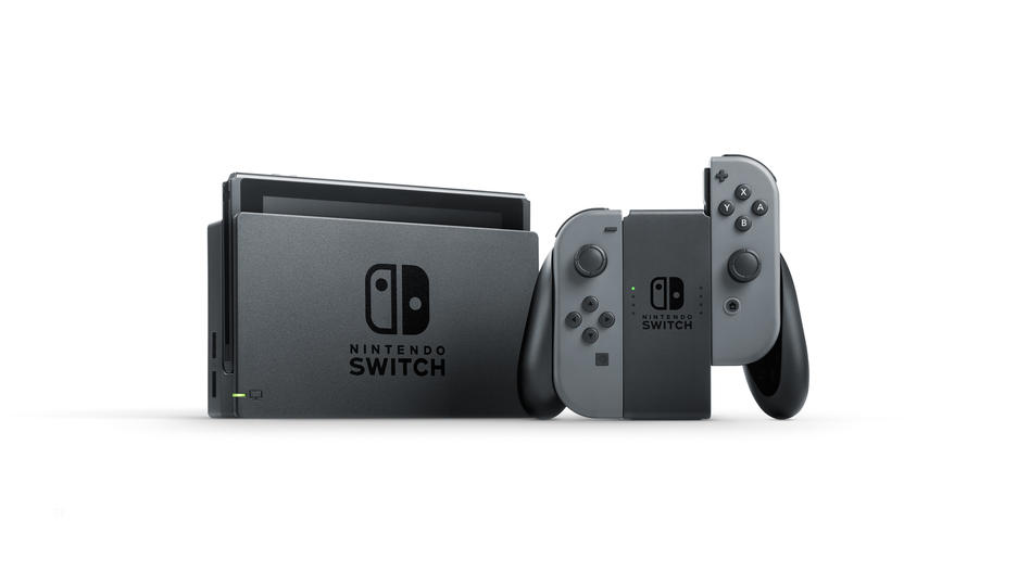 Nintendo Switch Grey Konsoll