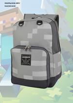 Minecraft: Backpack Grey
