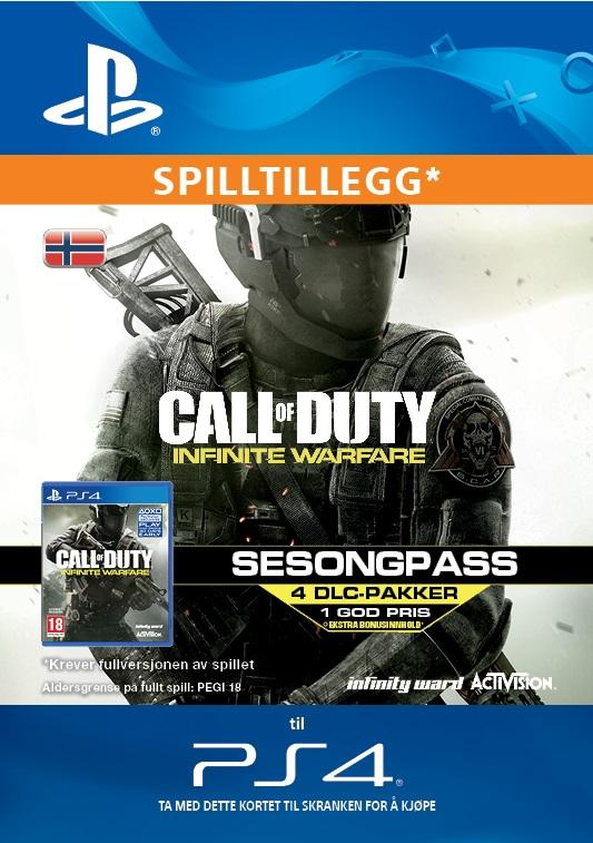 Call of Duty: Infinite Warfare Season Pass for PS4 [DIGITALT]