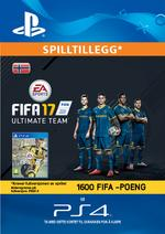 FIFA 17 Ultimate Team - 1600 Points Pack for PS4