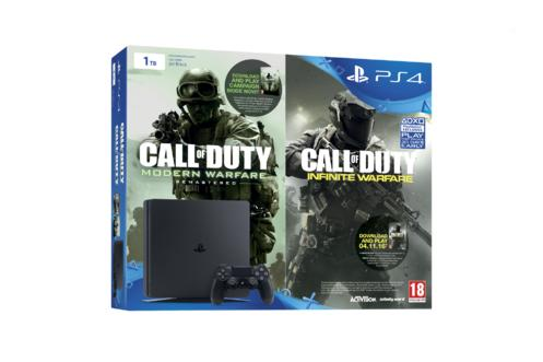 1TB PlayStation 4 Slim: Call Of Duty: Infinite Warfare