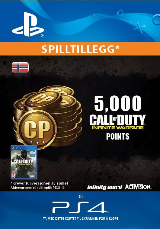 Call of Duty: Infinite Warfare 5000 Points for PS4 [DIGITALT]