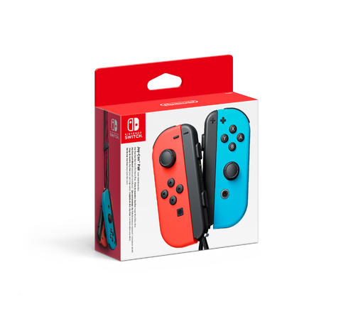 Nintendo Switch Red/Blue Joy-Con Controllers
