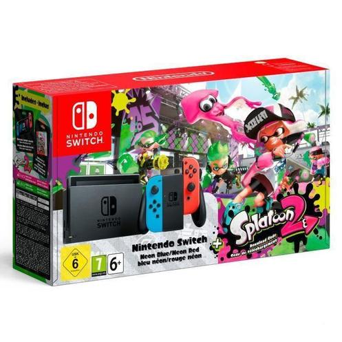 Nintendo Switch Splatoon 2 Konsoll
