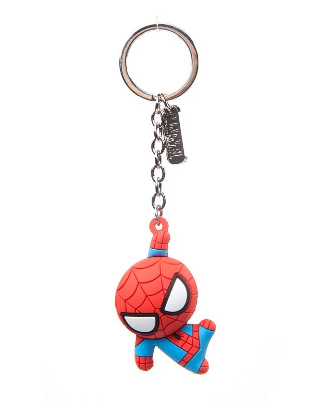Marvel: Spiderman - Character 3D Rubber Keychain