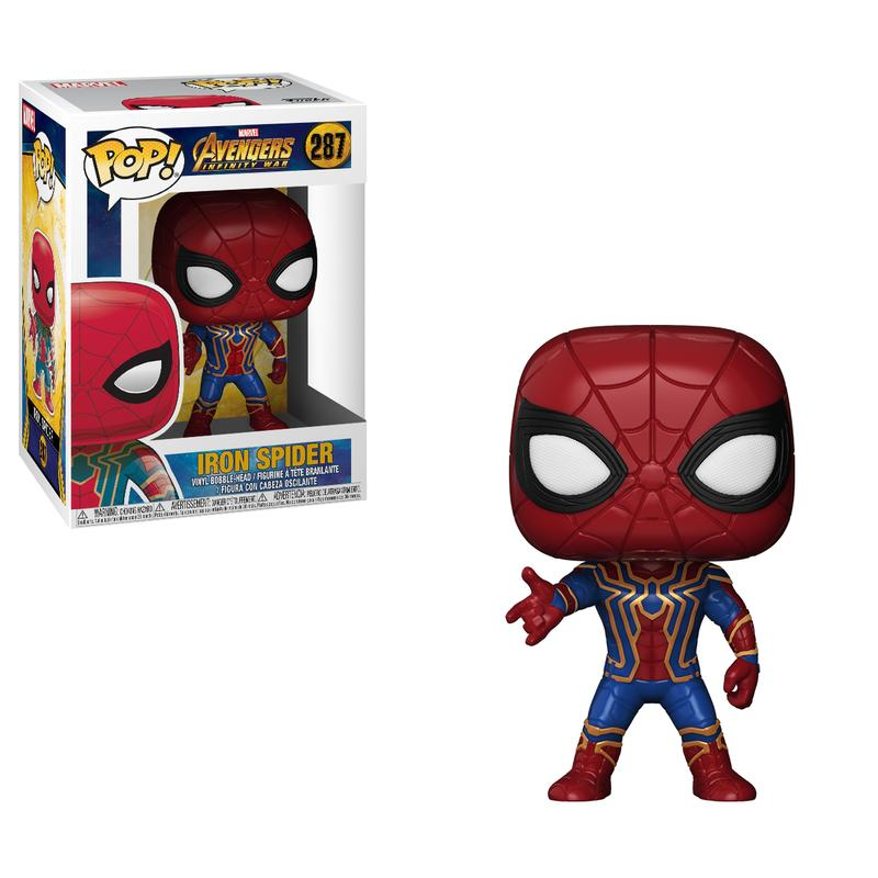 Avengers: Infinity War Iron Spiderman Pop! Vinyl Figure