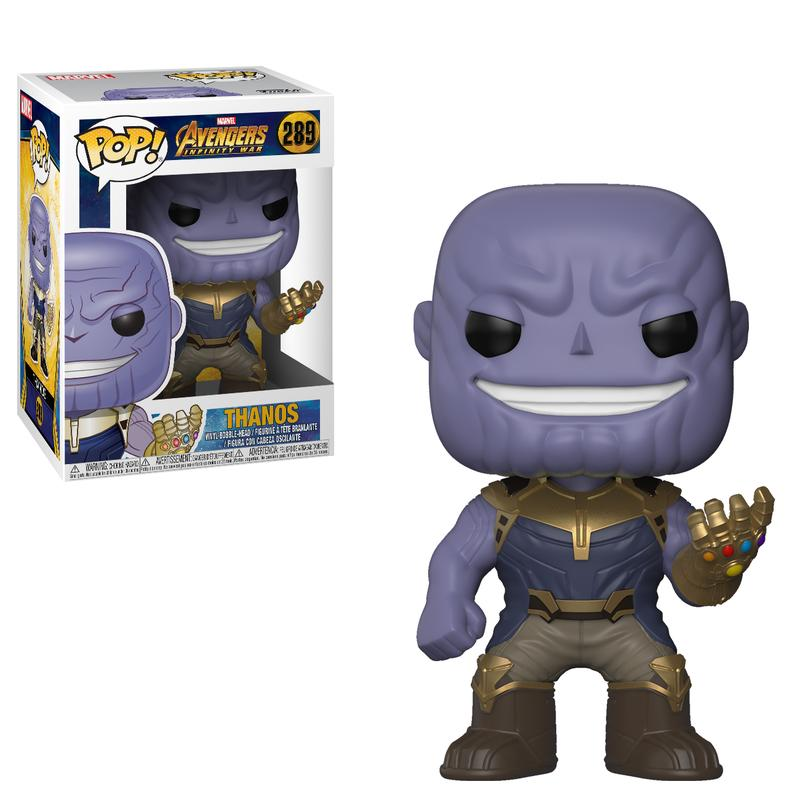 Avengers: Infinity War Thanos Pop! Vinyl Figure