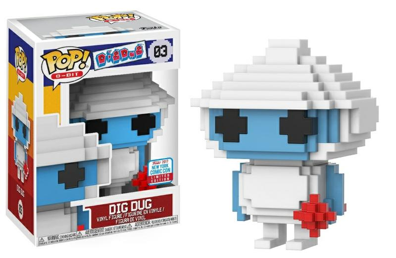 Pop! Games Dig Dug: 8-Bit Dig Dug [New York Comic Con Exclusive]