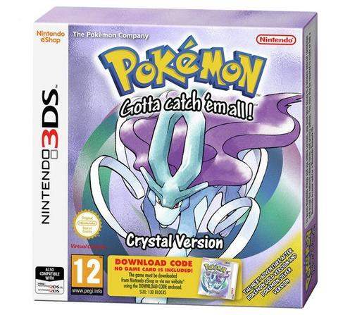 Pokémon Crystal Version [Code in Box]
