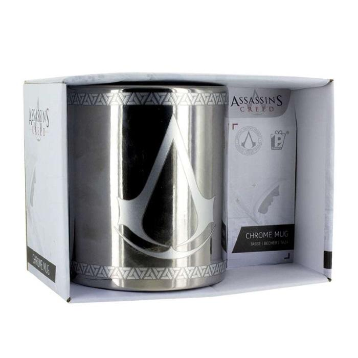 Assassins Creed Chrome Mug