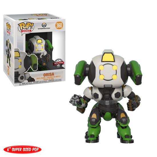 Pop! Games: Overwatch - Orisa [GameStop Exclusive]