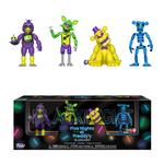 Five Nights at Freddy's: Blacklight Figures 4 Pack