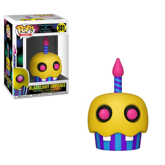 Pop! Games: Five Nights At Freddy's - Blacklight Cupcake