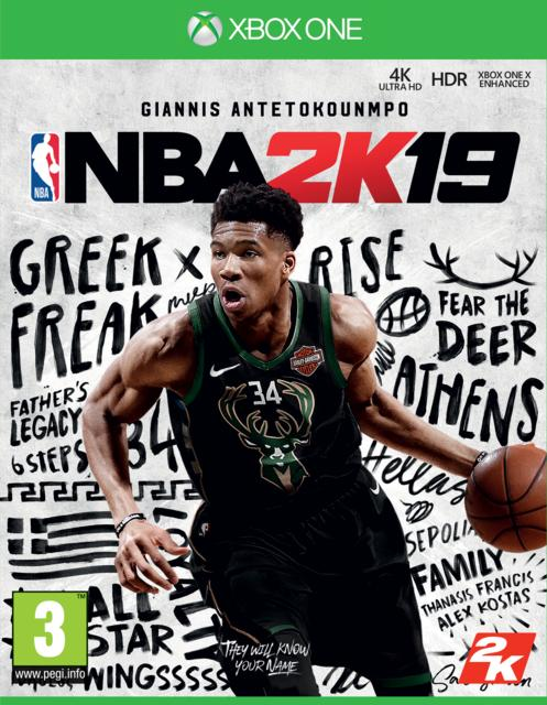 NBA 2K19 Steelbook Edition [Kun Hos GameStop]