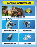 Fortnite: Deep Freeze Bundle Til Xbox One