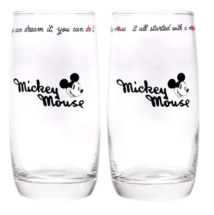 Disney: Mickey Mouse Set of 2 Glasses