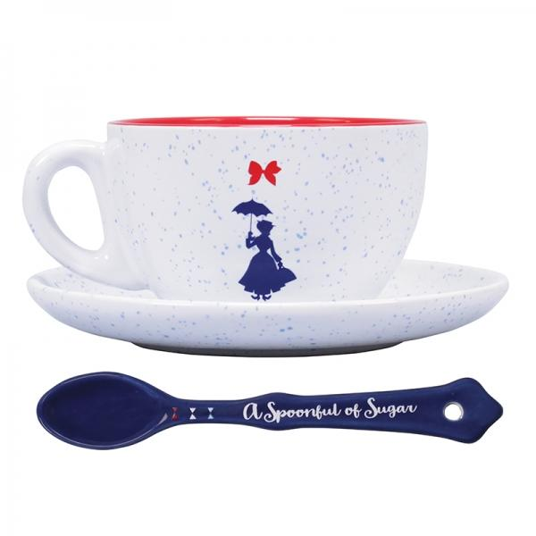 Disney: Mary Poppins - Practically Perfect Cup & Saucer