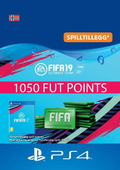 FIFA 19 Ultimate Team™ - 1050 Points Til PS4 [DIGITALT]