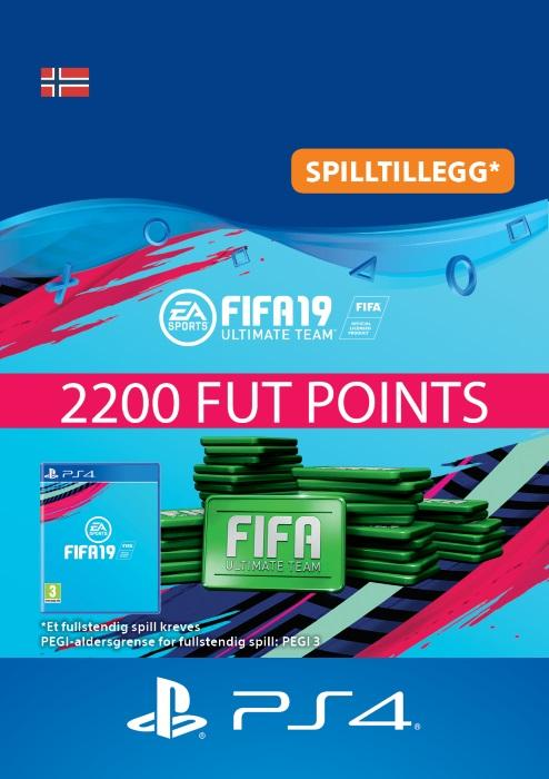 FIFA 19 Ultimate Team™ - 2200 Points Til PS4 [DIGITALT]