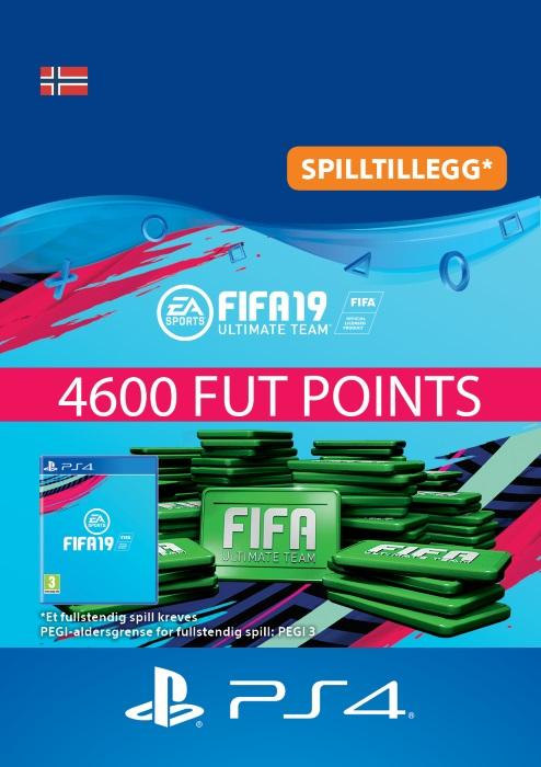 FIFA 19 Ultimate Team™ - 4600 Points Til PS4 [DIGITALT]