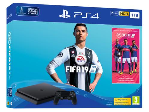PlayStation®4 1TB Konsoll og Fifa 19