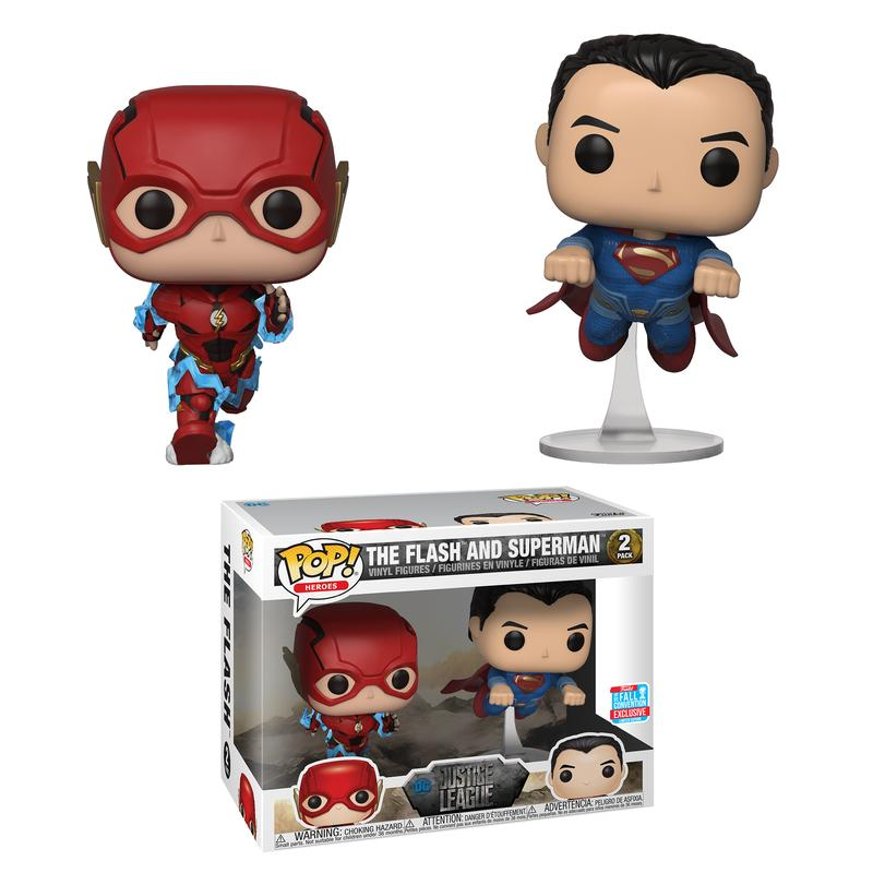 Pop! Heroes: DC - The Flash & Superman