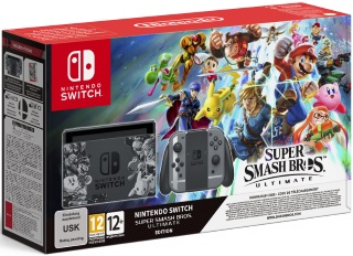 Nintendo Switch Super Smash Bros. Ultimate Edition Konsoll