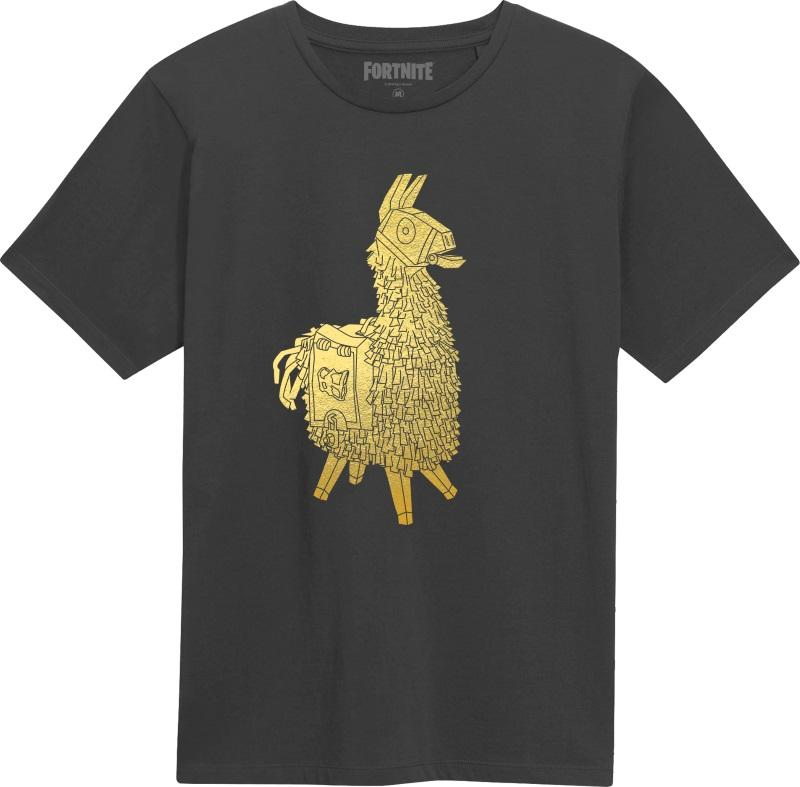 Fortnite: Golden Llama T-Shirt [Medium]