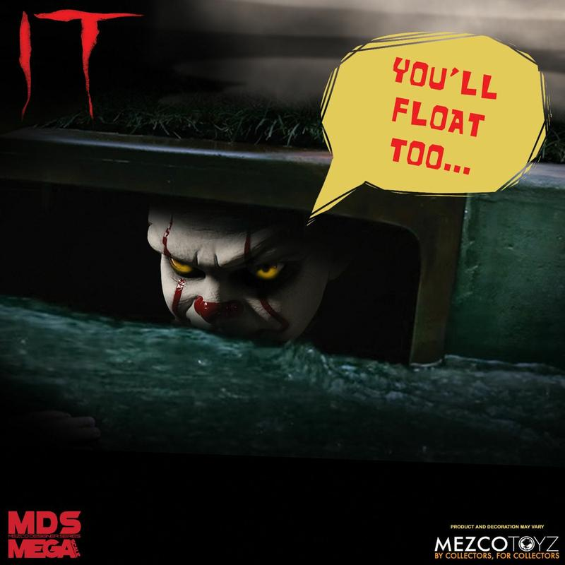 IT: 2017 - Mega Scale Talking Pennywise