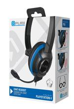 At Play Black Chat Headset til PS4