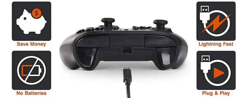 PowerA: Sapphire Fade Enhanced Wired Controller til Xbox One