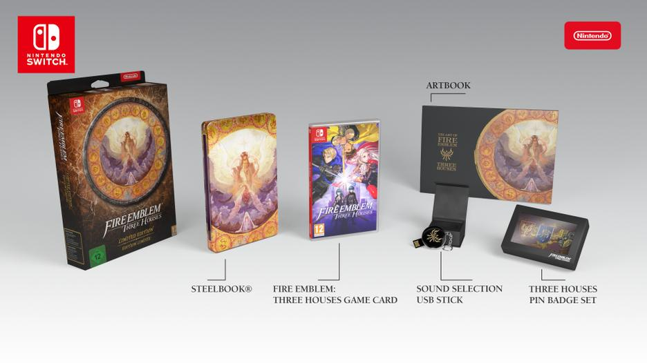 Fire Emblem: Three Houses Limited Edition