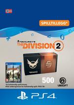 Tom Clancy's - The Division 2: Pakke Med 500 Premium Credits Til PS4