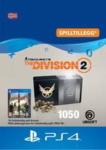 Tom Clancy's - The Division 2: Pakke Med 1050 Premium Credits Til PS4