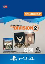 Tom Clancy's - The Division 2: Pakke Med 2250 Premium Credits Til PS4