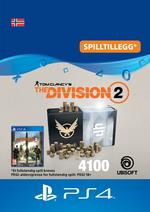 Tom Clancy's - The Division 2: Pakke Med 4100 Premium Credits Til PS4