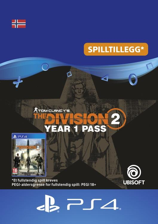 Tom Clancy's - The Division 2: Year 1 Pass Til PS4 [DIGITALT]