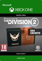 Tom Clancy's - The Division 2: Pakke Med 500 Premium Credits Til Xbox One