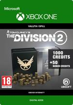 Tom Clancy's - The Division 2: Pakke Med 1050 Premium Credits Til Xbox One