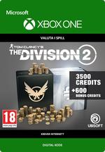 Tom Clancy's - The Division 2: Pakke Med 4100 Premium Credits Til Xbox One