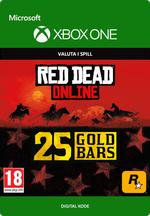 Red Dead Redemption 2: 25 gullbarrer til Xbox One